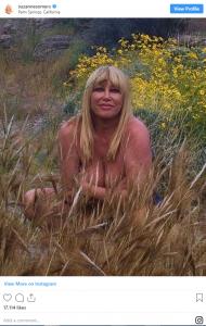 Suzanne Somers Nude Birthday Photo